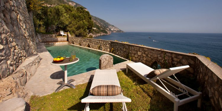 Of apartments in Positano