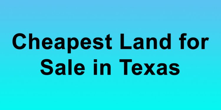 Cheapest Land for Sale in