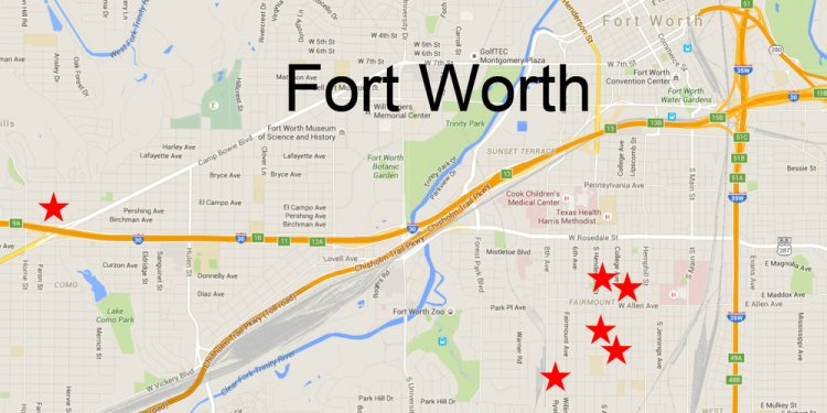 Rent Historic fort worth