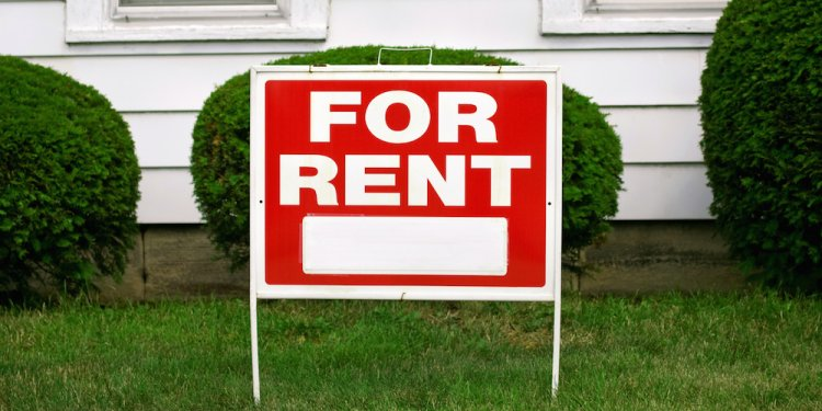 For rent sign large