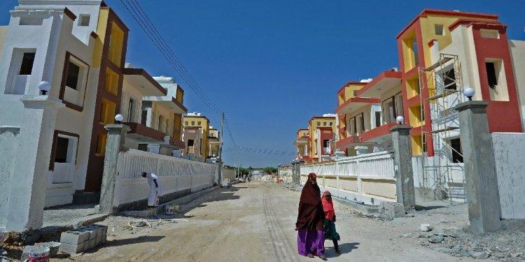 Somalia housing boom as