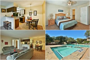 2-bedroom apartments at Summit on the Lake in Fort Worth