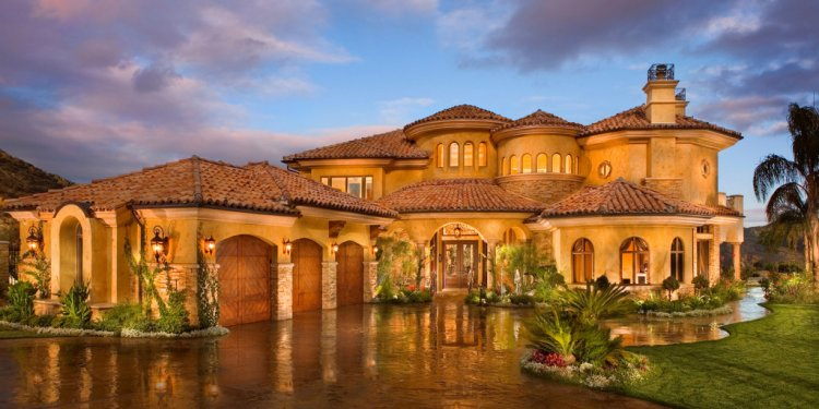 Beautiful big houses