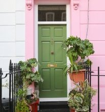 Colorful House in Primrose Hill