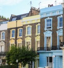 Colorful Houses in Primrose Hill