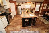 Kitchen Island large enough for all your cooking needs