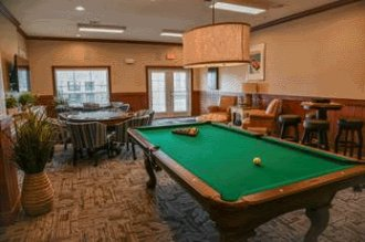 Mariposa Apartment Homes at Spring Hollow - Billards Room
